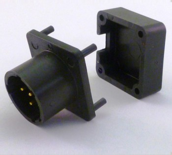 BA5590 Connector with Backshell Special Order